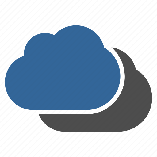 cloud storage, clouds, cloudy, online, service, technology, weather forecast icon