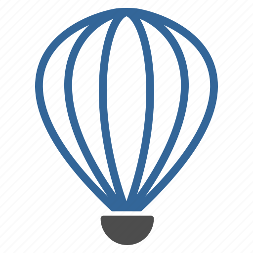 aerostat, air trip, airship, balloon, baloon, flight, fly icon
