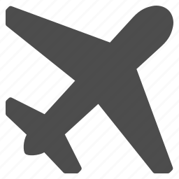aeroplane, airbus, airliner, airplane, flight, plane, transport icon
