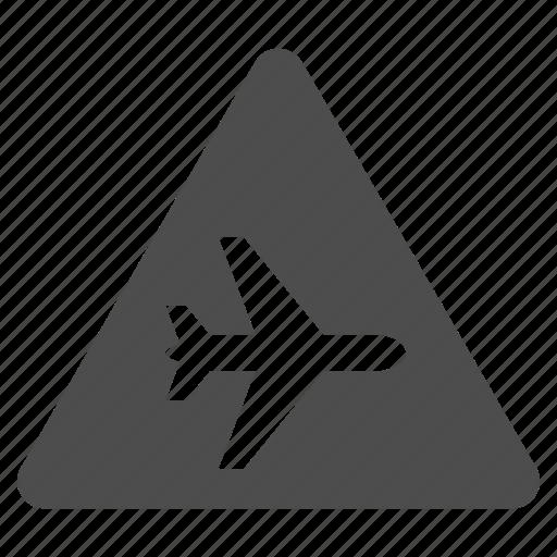 aircraft, airplane, alarm, danger, plane, safety, warning icon