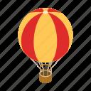 air, balloon, design, fun, hot, isometric, sky