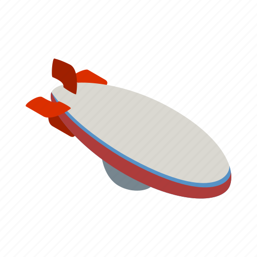 aerostat, air, design, fun, hot, isometric, sky icon