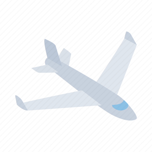 Air, big, fly, isometric, plane, sky, travel icon - Download on Iconfinder