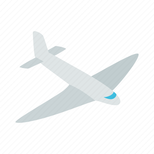 Air, fly, isometric, passenger, plane, sky, travel icon - Download on Iconfinder