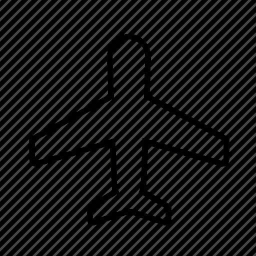 aircraft, airplane02, aviation, flight, plane, travel icon
