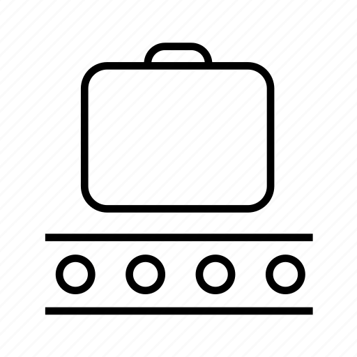 bag, baggage, baggage claim, claim, luggage, suitcase, travel icon
