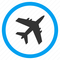 air plane, aircraft, airplane, airport, aviation, flight, vehicle icon
