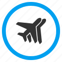 airliner, airlines, avia, aviation, avion, flying, wings icon