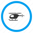 avia transport, aviation, chopper, flight, helicopter, transportation, vehicle icon