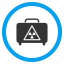 attention, caution, danger, dangerous luggage, hazard bag, risk, suitcase icon