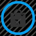 bag, basket, buy, duty free, package, sales, shopping