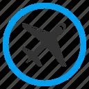 aircraft, airplane, aviation, jet, plane, transport, transportation icon