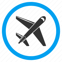 aircraft, airplane, aviation, jet, plane, transport, transportation icon