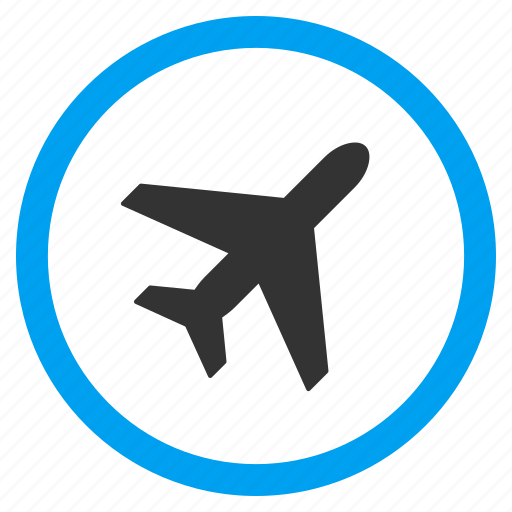 aircraft, airline, airplane, airport, flight, plane, transport icon
