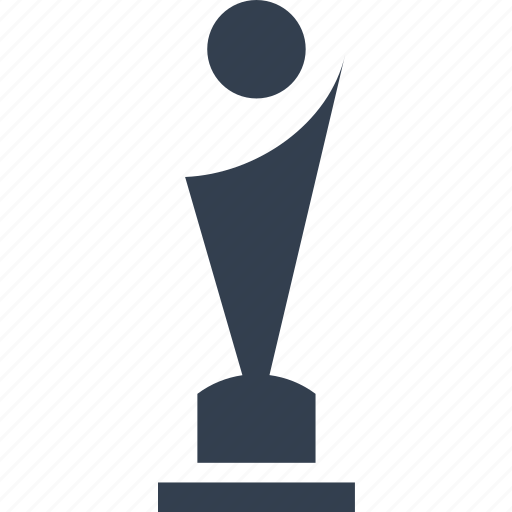 award, chempion, cup, film, movie, person, shape, trophy, winner icon