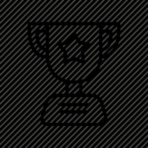achievement, award, medal, success, trophy icon