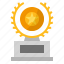 award, badge, trophy icon