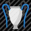 crown, trophy, ribbon