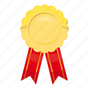achievement, award, cartoon, first, gold, victory, winner icon