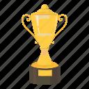 trophy, success, cup, reward, cartoon, best, first