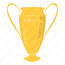 best, cartoon, cup, first, reward, success, trophy icon