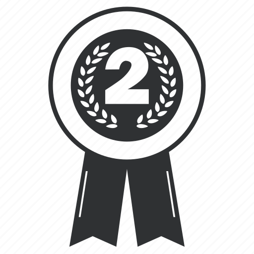 achievement, award, badge, collection, element, emblem, insignia, label, ribbon, trophy, winsecond icon