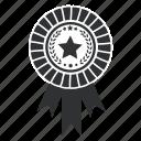 star, prize, power, win, wreath, award, winning, achievement, medallion, collection, laurel, ribbon, best icon