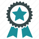 achievement, award, medal, prize, star, trophy, win icon