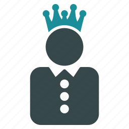 crown, government, king, knight, power, queen, rule icon
