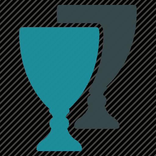 achievement, award cups, gold awards, prize, reward, success, win icon