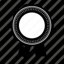 award, badge, prize, quality, ribbon, seal, sticker icon