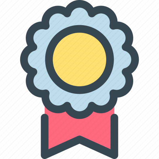 award, medal, prize, ribbon, trophy, win, winner icon