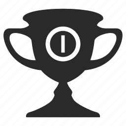 cup, first, place, prize, winner icon