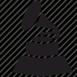 award, grammy icon