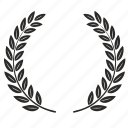 laurels, winner icon
