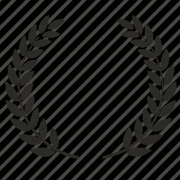 laurels, winner icon