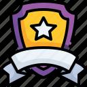 badge, winner, competition, stars, reward