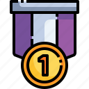 prize, medal, first, gold, winner