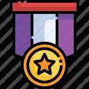 medal, star, quality, certification, award