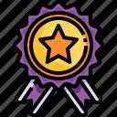 insignia, competition, star, reward, medal