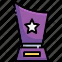 prize, winner, trophy, star, award