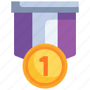 winner, gold, first, medal, prize