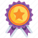 reward, star, competition, medal, insignia icon