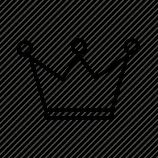 acheivement, award, crown, king, premium, queen, winner icon