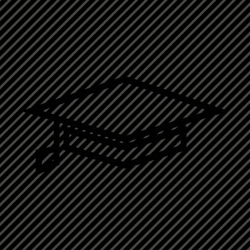 acheivement, award, graduate, master degree, scholar icon