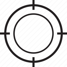 bulls eye, goals, set, target icon