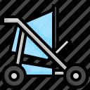 stroller, toys, kid, children, baby