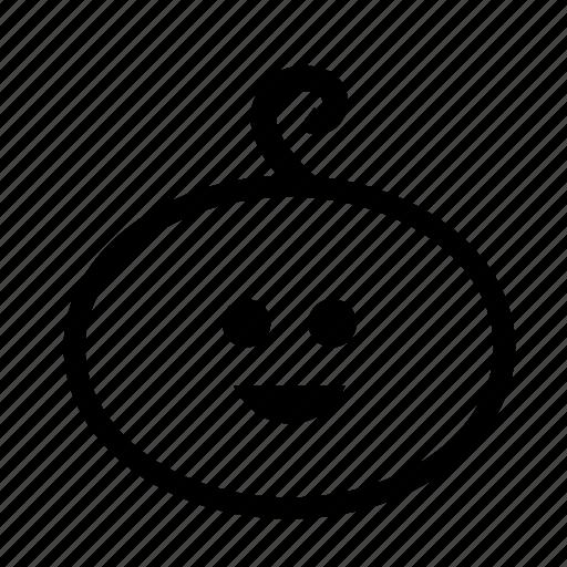 baby, boy, smilling icon icon