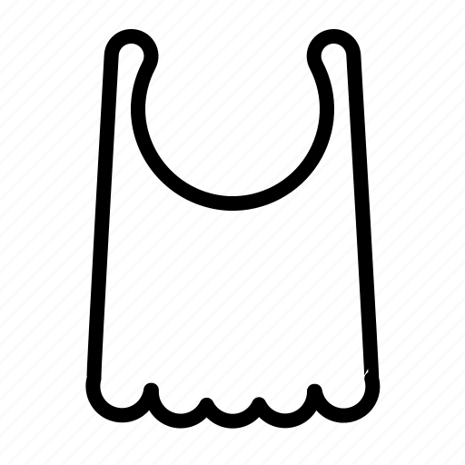apron, baby, bib, fun, kid icon