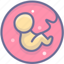 baby, biology, embryo icon